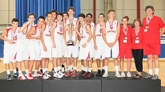 The Principality of Monaco are crowned champions at the 2012 U16 European Championship Men Division C